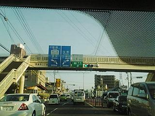 こっちも、そこそこ渋滞(SA360088)